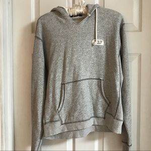 Juniors gray hoodie long sleeve